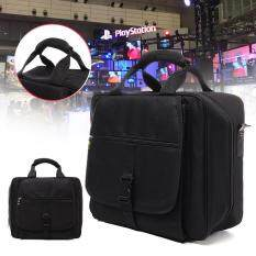 For Xbox One Carrying Case Console Video Game Disc Travel Bag Storage Black By Threegold.