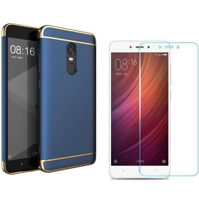 3 Set (phone Case+ HD Full Coverage Tempered Glass +ring Holder)/ Hard