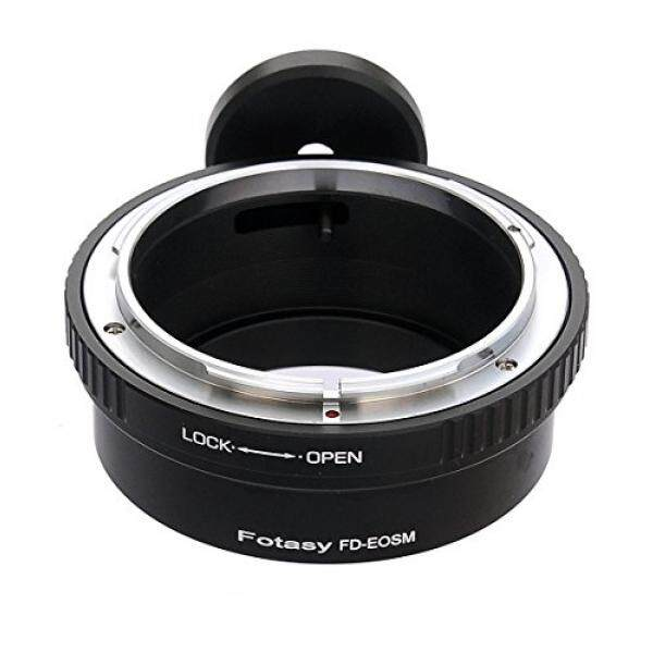 Fotasy Canon FD FL Lens to Canon EOS M EF-M Mirrorless Camera Adapter, with Tripod Mount, fits Canon M1, M2, M3, M5, M6, M10 Mirrorless Camera - intl
