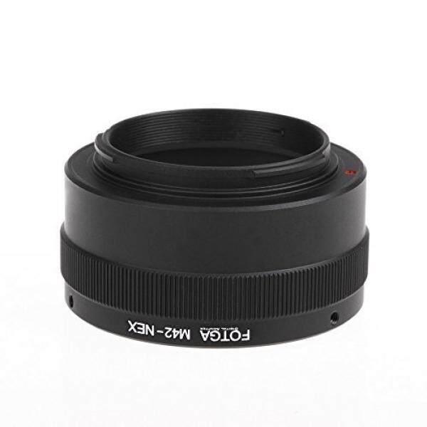 FOTGA E Adaptor Dudukan Konverter Cincin F? R M42 Objektiv Lensa Zu Sony Mirrorless Kamera NEX Nex-3 NEX-5C NEX-6 A7 A7S A7RII III A9 A6000 A6300 A6500 m42-NEX-Intl