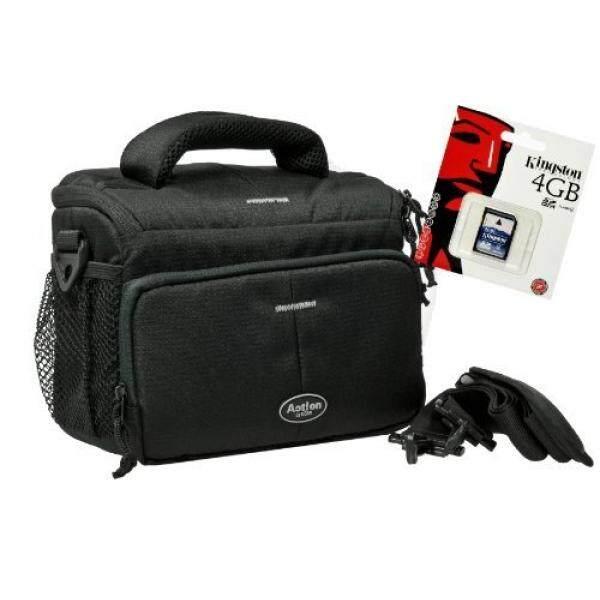 Foto Kamera Tasche Aksi Hitam Tasche MIT 4 GB SD Speicherkarte F? R Canon EOS 1300D 1200D 760D 750D 700D 80D Nikon D7200 D610 D500 D5500 D5300 D3300 D3200-Intl