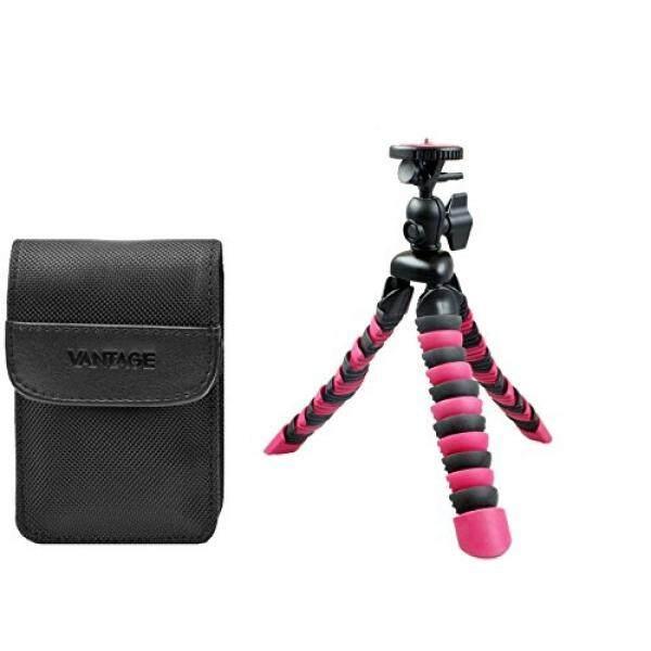 Foto Kamera Tasche DCN Vantage Set MIT Rollei Reise Stativ 100 F? R Canon IXUS 220 285 275 265 255 185 180 Sony WX350 WX220 Und Andere-Intl
