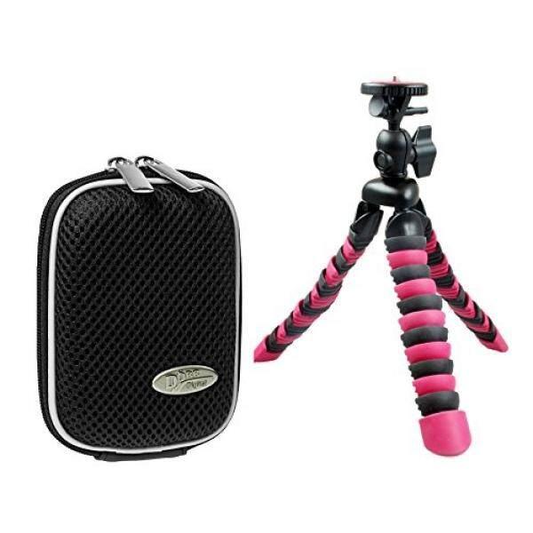 Foto Kamera Tasche Hardbox Hitam Set MIT Flexi Reise Stativ F? R Sony DSC-RX100 V HX80 Sony DSC-RX100 IV WX500 HX90V RX 100III HX60V-Intl