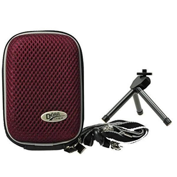 Foto Kamera Tasche Hardbox Plum Set MIT Faltbarem Tischstativ F? R Sony DSC-RX100 V HX80 Sony DSC-RX100 IV WX500 HX90V RX 100III HX60V-Intl