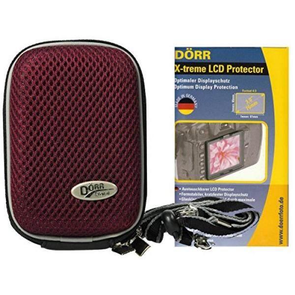 Foto Kamera Tasche Hardbox Plum Set MIT LCD Schutzfolie F? R Sony DSC-RX100 V HX80 Sony DSC-RX100 IV WX500 HX90V RX 100III HX60V-Intl