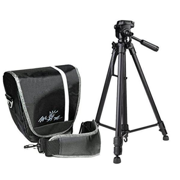 Foto Kamera Tasche Modell Miami Coltset MIT Foto Und Videostativ Inkl. Stativtasche F? R Canon EOS 1300D 700D 760D 80D 100D Nikon D7200 D500 D610 D5500 D5300 D3300 D3200 Sony Alpha 6500 6300 6000 5100-Intl