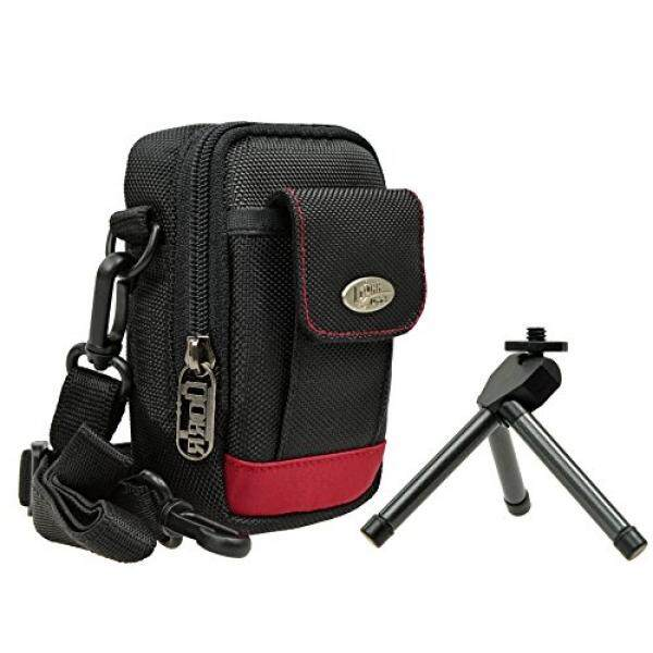 Foto Kamera Tasche Batu Merah PLUS Set MIT Tisch Stativ F? R Sony DSC-RX100 V HX80 Sony DSC-RX100 IV WX500 HX90V RX 100III HX60V-Intl