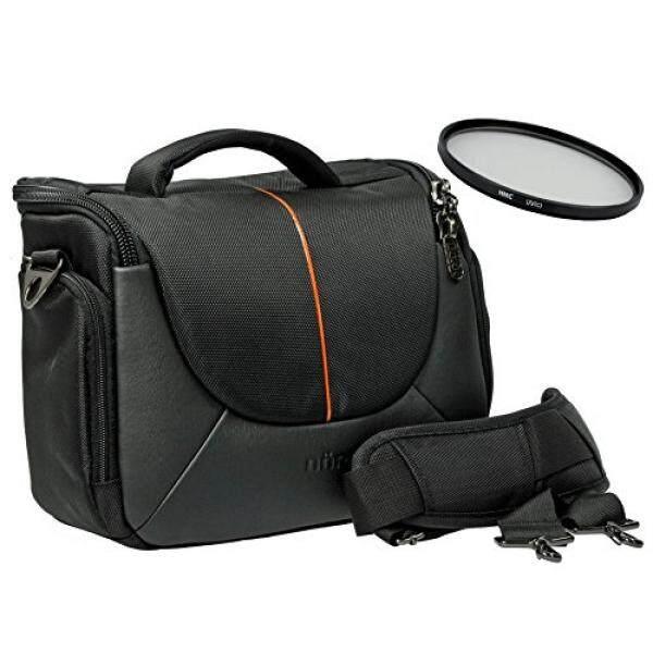 Foto Kamera Tasche Yuma L Set MIT Filter UV 58 Mm F? R Canon EOS 1300D 1200D 760D 750D 700D 80D 7D 650D 600D 100D 60D MIT Objektiv EF-S 18-55 MM-Intl