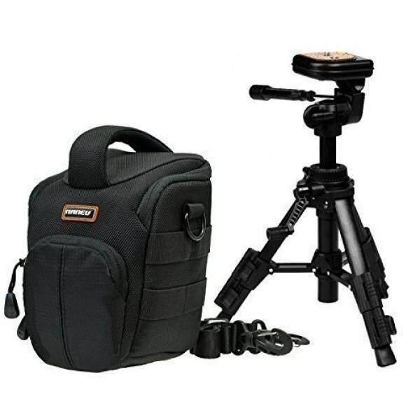 Foto Tasche Naneu C5 Kamera Set MIT Makro-Stativ TPA-03 F? R Sony Alpha 6300 6000 5100 5000 H400 HX400 Nikon Coolpix Canon Panasonic Und Viele Andere-Intl