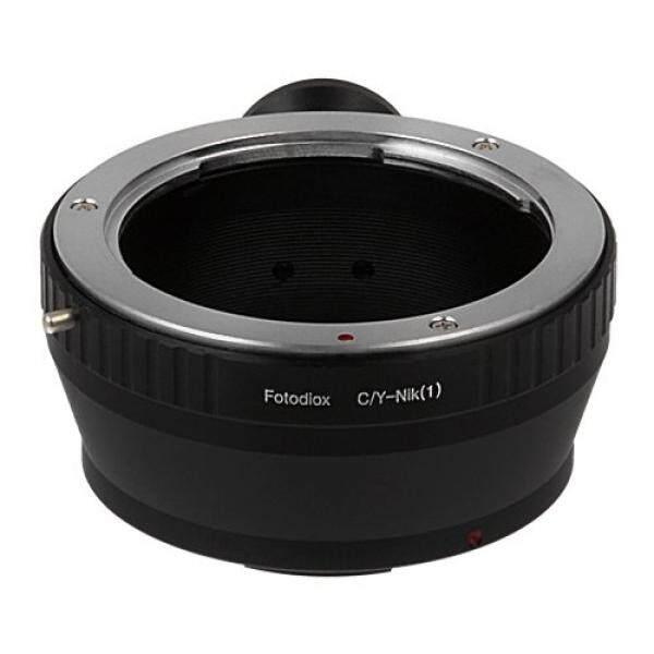 Fotodiox Lensa Adaptor Dudukan Contax/Yashica Lensa untuk Nikon 1 Kamera Sistem Mirrorless Kamera Digital Seperti S2, J4, V3, AW1-Intl