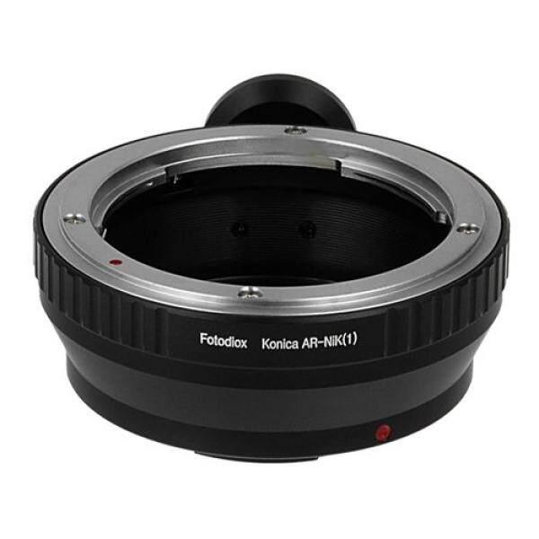 Fotodiox Lensa Adaptor Dudukan, Konica Lensa AR untuk Nikon 1 Sistem Mirrorless Kamera Digital Seperti S2, J4, V3, AW1-Intl