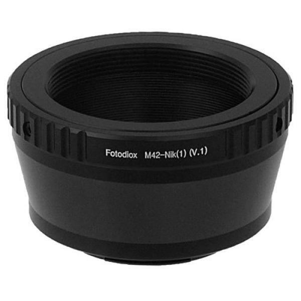 Fotodiox Lensa Adaptor Dudukan M42 Lensa untuk Nikon 1 Kamera Sistem Mirrorless Kamera Digital Seperti S2, J4, V3, AW1-Intl