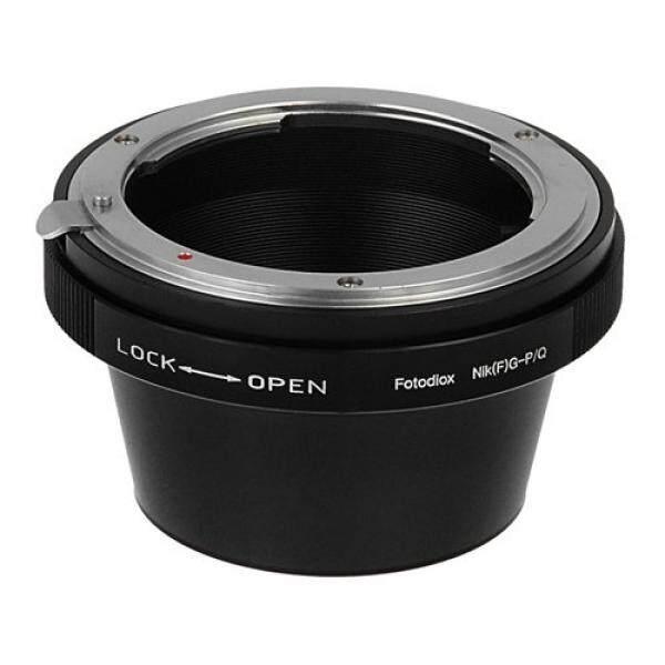 Fotodiox Lensa Adaptor Dudukan, Nikon G DX Lensa untuk Pentax Q Seri Mirrorless Kamera Digital Pentax Q q10, Q7, Q-S1-Intl