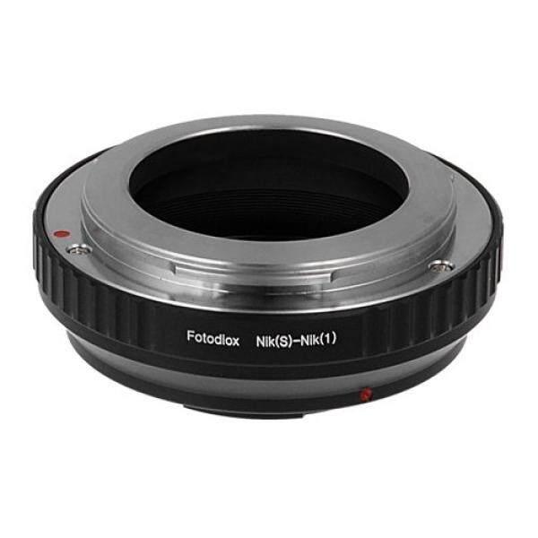 Fotodiox Lensa Adaptor Dudukan Nikon Rf/Contax S Lensa untuk Nikon 1 Kamera Sistem Mirrorless Kamera Digital Seperti S2, J4, v3, AW1-Intl