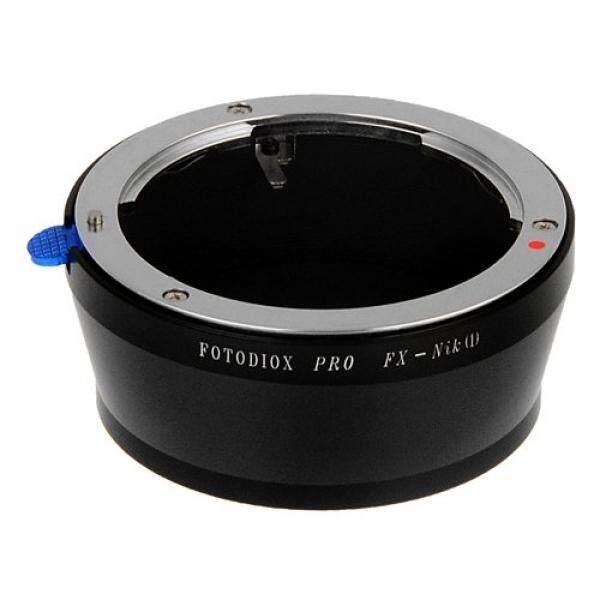 Fotodiox Lensa Pro Adaptor Dudukan Fujica X-Mount Lensa untuk Nikon 1 Kamera Sistem Mirrorless Kamera Digital Seperti S2, J4, v3, AW1-Intl