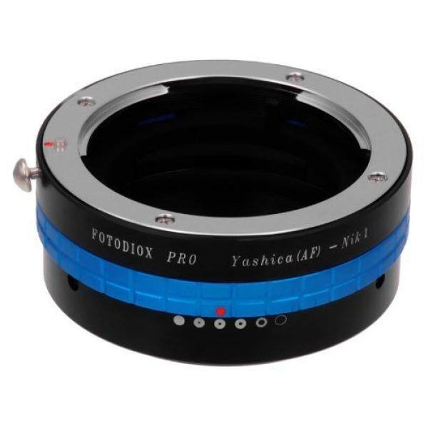 Fotodiox Lensa Pro Adaptor Dudukan, Yashica 230 AF Lensa untuk Nikon 1 Sistem Mirrorless Kamera Digital Seperti S2, J4, v3, AW1-Intl