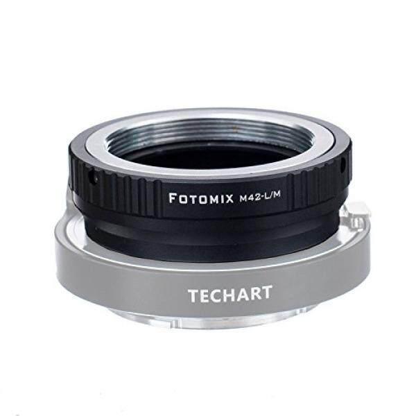 Fotomix M42-LM Adaptor untuk M42 Sekrup Dudukan Lensa Ke Leica M L/M M9 M8 M7 M6 M5 Kamera bekerja dengan Techart LM-EA 7-Internasional