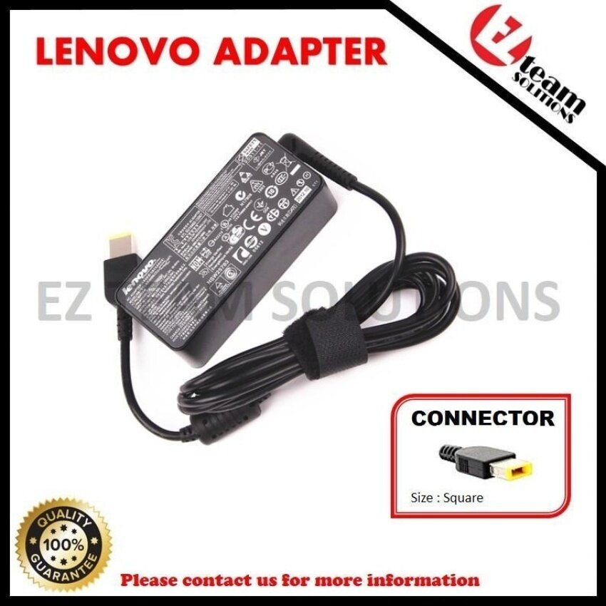 (Free Courier) Laptop AC Adapter Charger For Lenovo Y50-70 TOUCHSeries 20V 6.75A ( 135W ) Square-Head with Pin