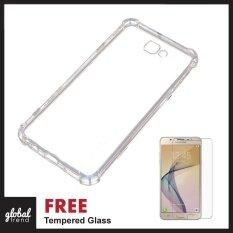 [FREE TEMPERED GLASS] Samsung Galaxy J7 Prime / ON7 2016 TPU ANTISHOCK Silicone Exact