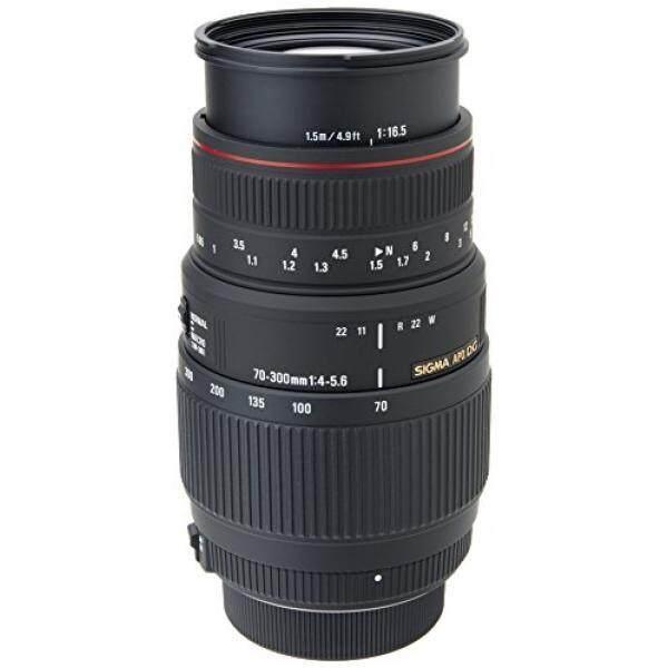 Dari Amerika Serikat SIGMA 70-300 Mm F/4-5.6 DG Apo Macro Bermotor Zoom Potret Jarak Jauh Lensa untuk Nikon Kamera SLR- internasional