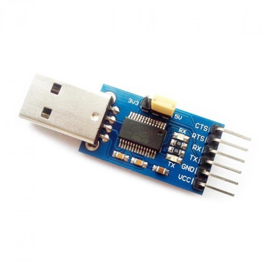 Program Dasar FTDI Downloader FT232 USB untuk TTL Converterl Adaptermodule-Internasional