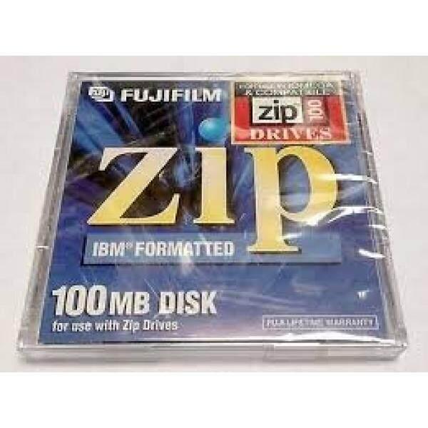 FUJIFILM 100 MB Zip Disk (IBM Diformat)-2 Pack-Intl