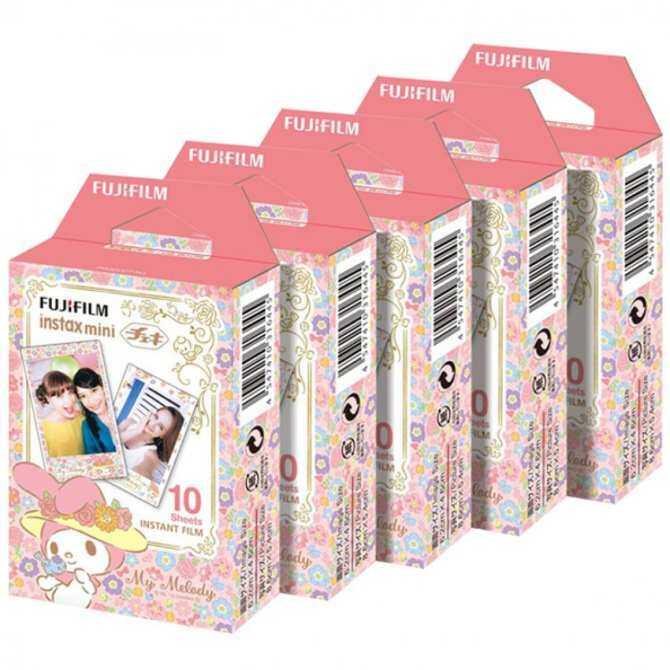 Fujifilm Instax Mini Melody Instant 50 Film for Fuji 7s 8 25 50s 70 90/
