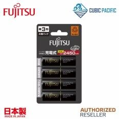 Fujitsu Premium High AA Rechargeable Battery 2550mAh - 4 Pcs Malaysia