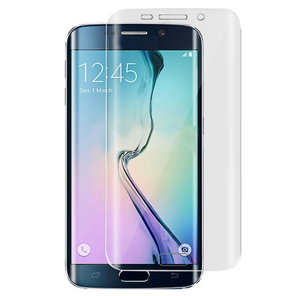 Full Cover Toughened Tempered Glass LCD Screen Protector for Samsung Galaxy S6 Edge Plus 5.7 inch - intl