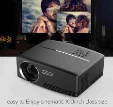 Full HD 1080P Mini Multimedia Projector Cinema Home Theater LED USB HDMI VGA AV