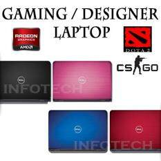 Gaming Laptop Dota 2 CSGO Dell N4010 Intel Core i5 Radeon HD5650 4GB 500GB Notebook (Refurbished) Malaysia