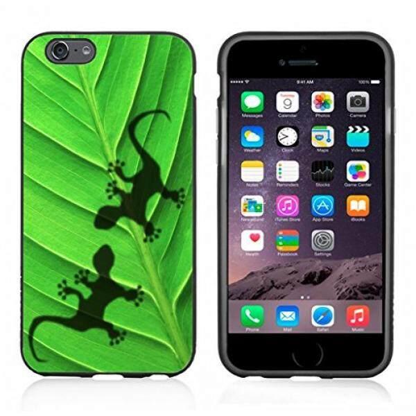 Gecko Bayangan Pada Daun Case/Cover untuk iPhone 6 atau 6 S dengan Atom Pasar-Intl