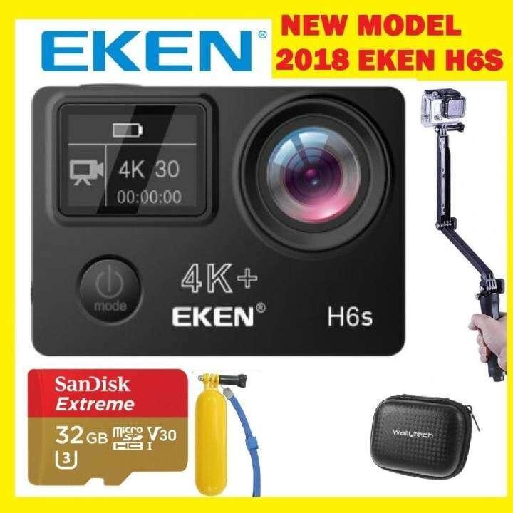 real 4k camera 2018 new eken h6s 14mp real 4k 30fps. Black Bedroom Furniture Sets. Home Design Ideas