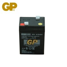GENUINE GP 6V 4.5Ah Rechargeable Sealed Lead Acid Battery - GPP645 Malaysia