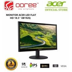 GENUINE ACER LED FLAT HD (1366 x 768) LCD MONITOR 18.5 EB192Q (5MS/VGA/VESA) (UM.XE2SM.001) BLACK Malaysia