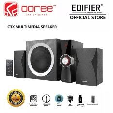 EDIFIER C3X 2.1 SPEAKER D-CLASS AMPLIFIER SYSTEM WITH DIGITAL SIGNAL PROCESSING SYSTEM HIGH QUALITY SOUND 8INCH WOOFER EIDC REMOTE USB SD CARD Malaysia