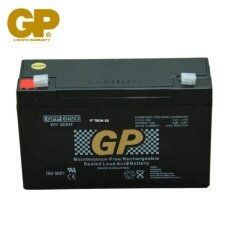 GENUINE GP 6V 12Ah Rechargeable Sealed Lead Acid Battery (GPP6120) Malaysia