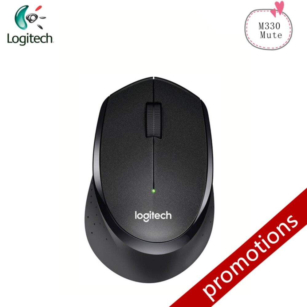Genuine M330 Two Way Roller Wireless Mouse with USB None Receiver Support ficial Test for