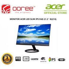 GENUINE ACER LED FLAT SLIM IPS FHD 21.5 R221Q LCD MONITOR (4MS/VGA/DVI/HDMI) (UM.WR1SM.001) Malaysia