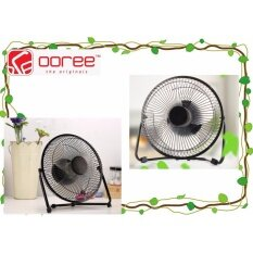 GENUINE OOREE PREMIUM QUALITY 10 USB FAN 2 GEARS BLACK & RED COLOR 23cm*10cm*24cm Malaysia