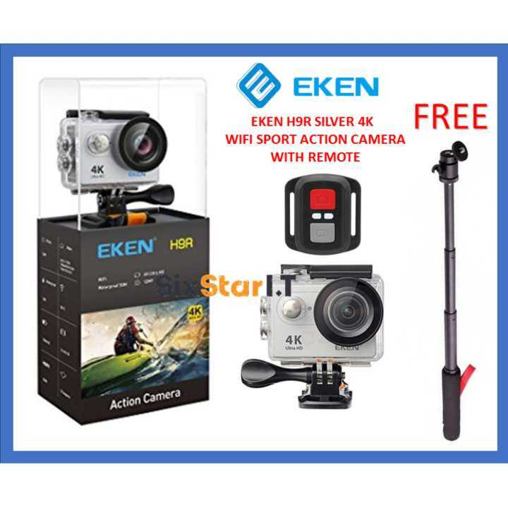 genuine premium version 2017 eken h9r 4k action camera. Black Bedroom Furniture Sets. Home Design Ideas