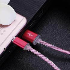 Glow LED Charger Luminescent Charging Date Sync Cable For Samsung Galaxy S3 S4 S5 S6 S7