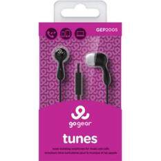 GO GEAR In-Ear Headphones Tunes - Black Malaysia