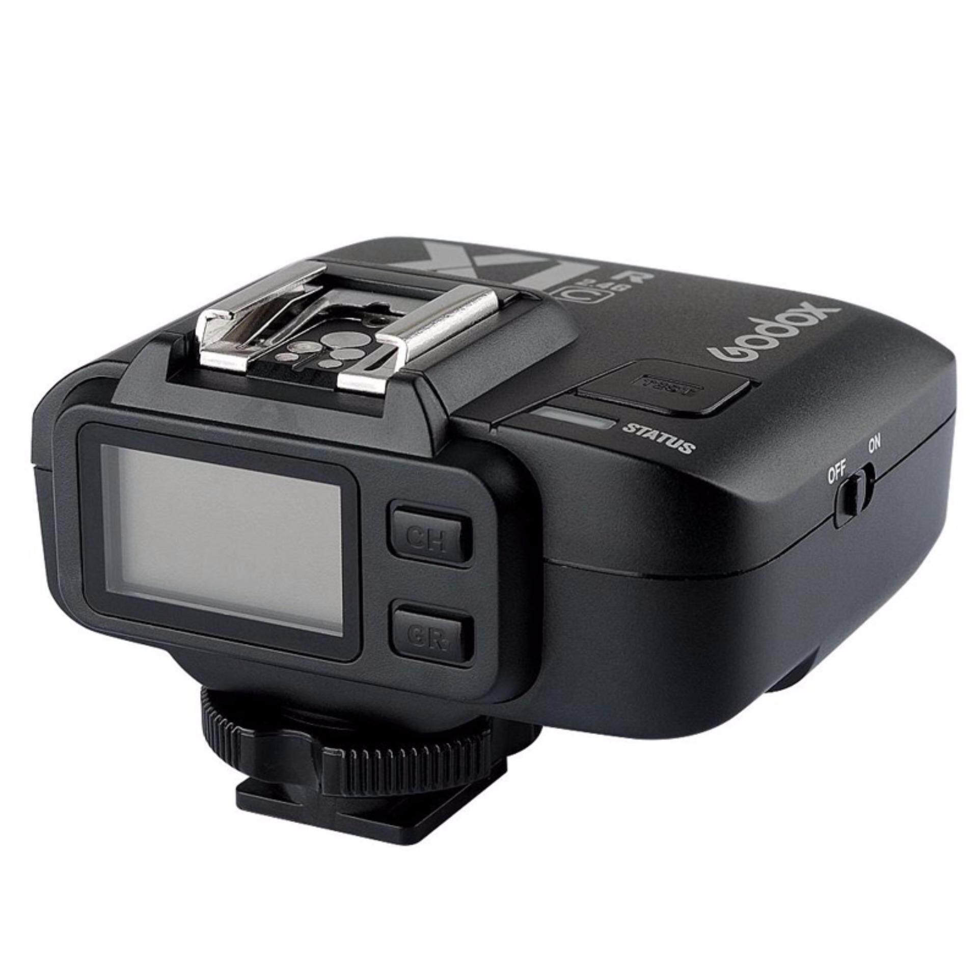 GODOX X1R-C 32 Saluran TTL 1/8000 S Wireless Remote Penerima Lampu Kilat Pelepasan Rana untuk Canon EOS GODOX X1T-C Transmitter- internasional