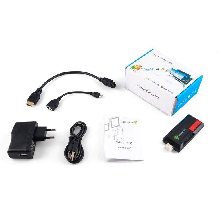 Buy Good Mk809Iv Bluetooth Tv Stick Otg Mini Pc Tv Dongle Quad Core Android 7 1 Tv Box Black 2G 16G Intl Oem Online