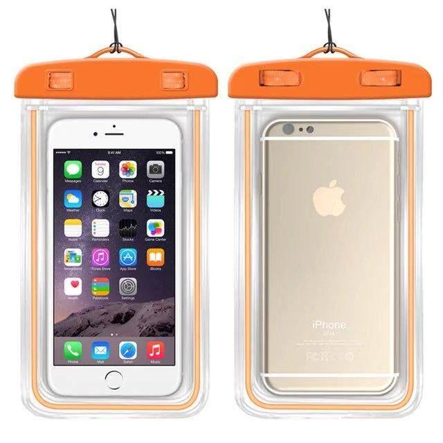 Kualitas Baik Anti-Air Telepon Tas untuk ZTE Grand S3 Lembut Bening Kantung Case Olahraga Menyelam (Cocok untuk Bayi 6 Inches di Bawah) -Internasional