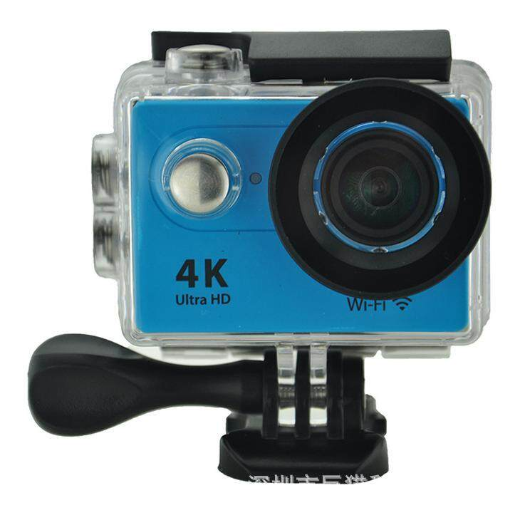 Goodpa 4K WiFi Sport DV H9 2.0 LCD 30M Waterproof 1080p wifi sport camera xdv/Ultra HD 4K Action Camera blue - intl