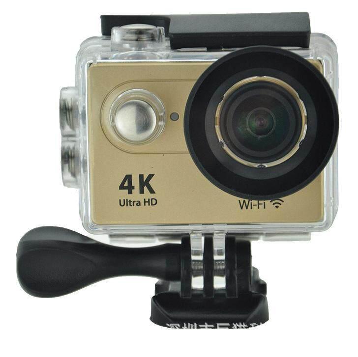 Goodpa 4K WiFi Sport DV H9 2.0 LCD 30M Waterproof 1080p wifi sport camera xdv/Ultra HD 4K Action Camera gold - intl