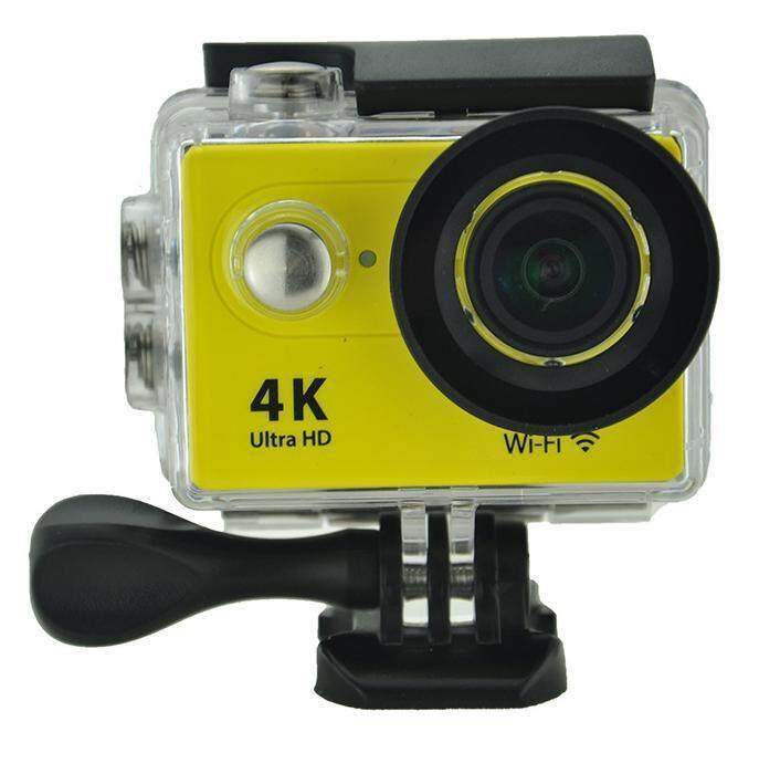 Goodpa 4K WiFi Sport DV Original H9 2.0 LCD 30M Waterproof 1080p wifi sport camera xdv/Ultra HD 4K Action Camera yellow - intl