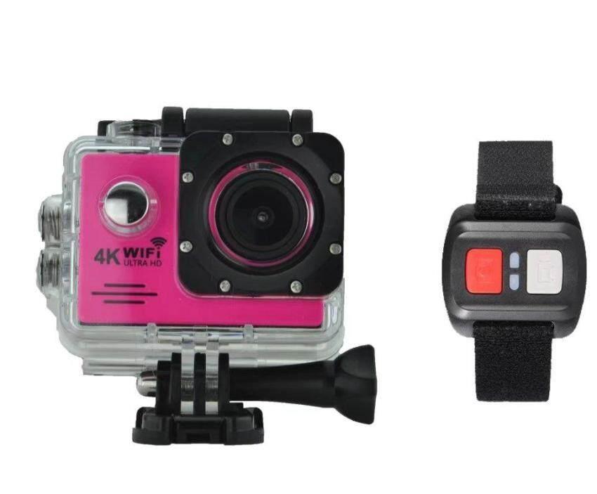 Goodpa HD mini sport dv 4K 1080p manual sport camera xdv car camcorder action camera HDKing G80R pink - intl